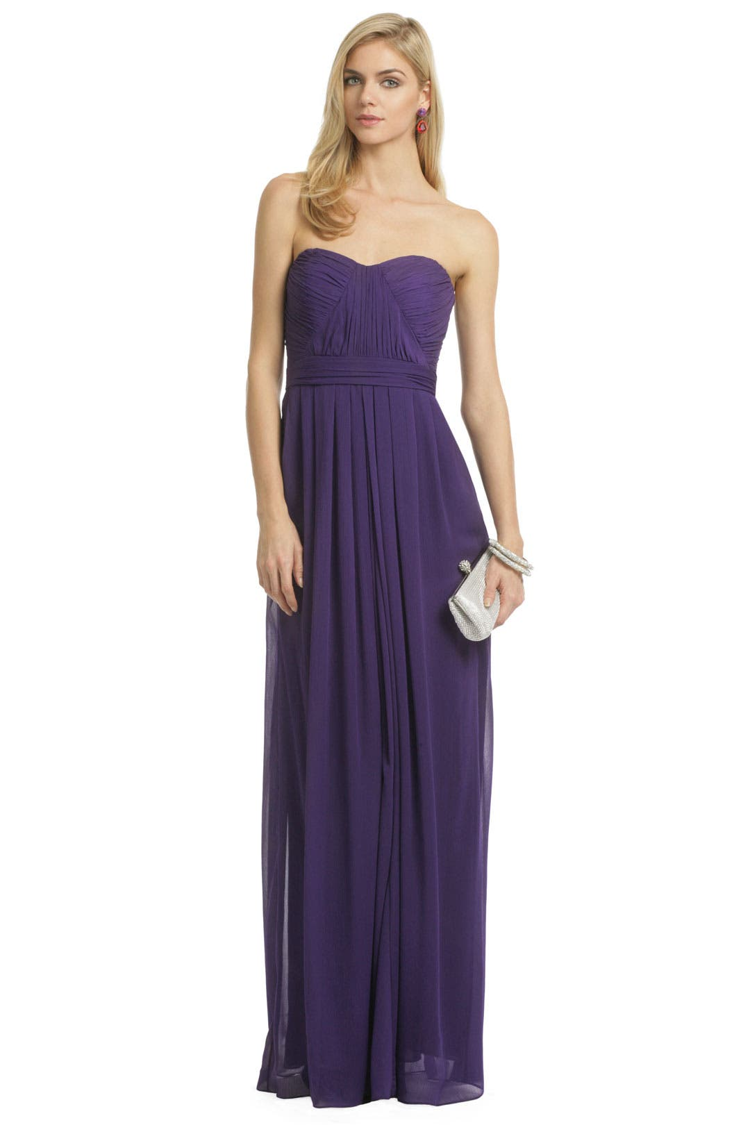 Fiona Chiffon Gown by Badgley Mischka