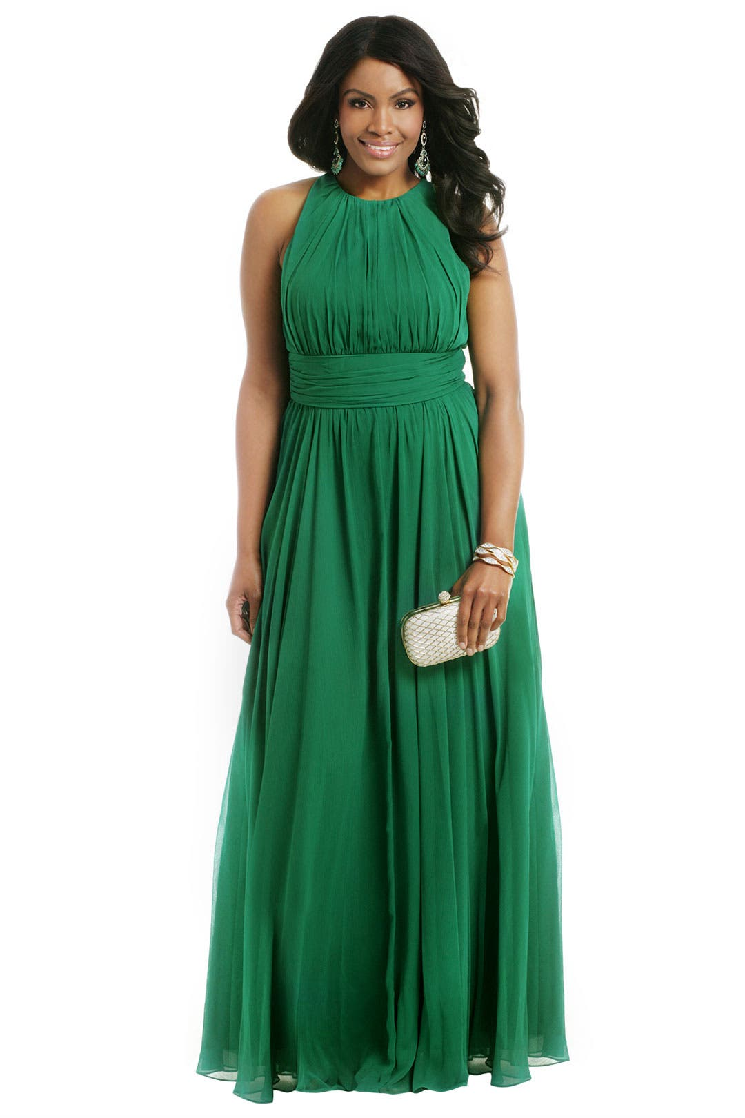 Green Light Ahead Gown by Badgley Mischka