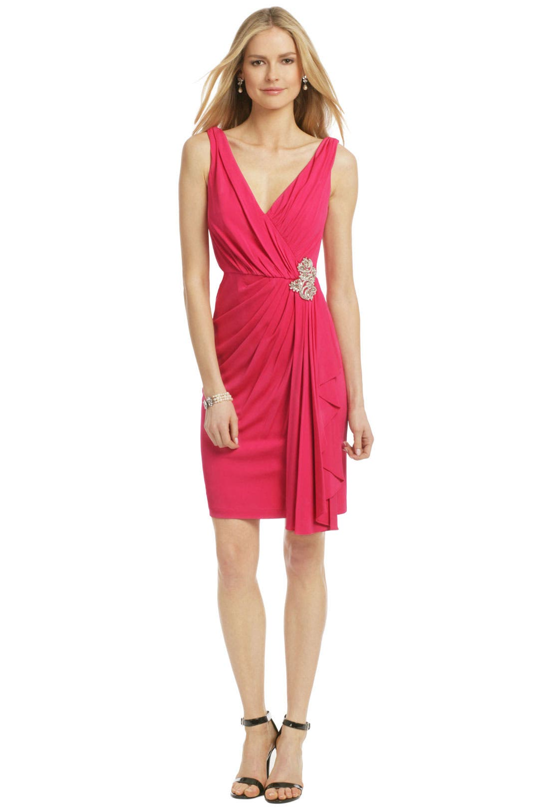 Magenta Royal Standard Dress by Badgley Mischka