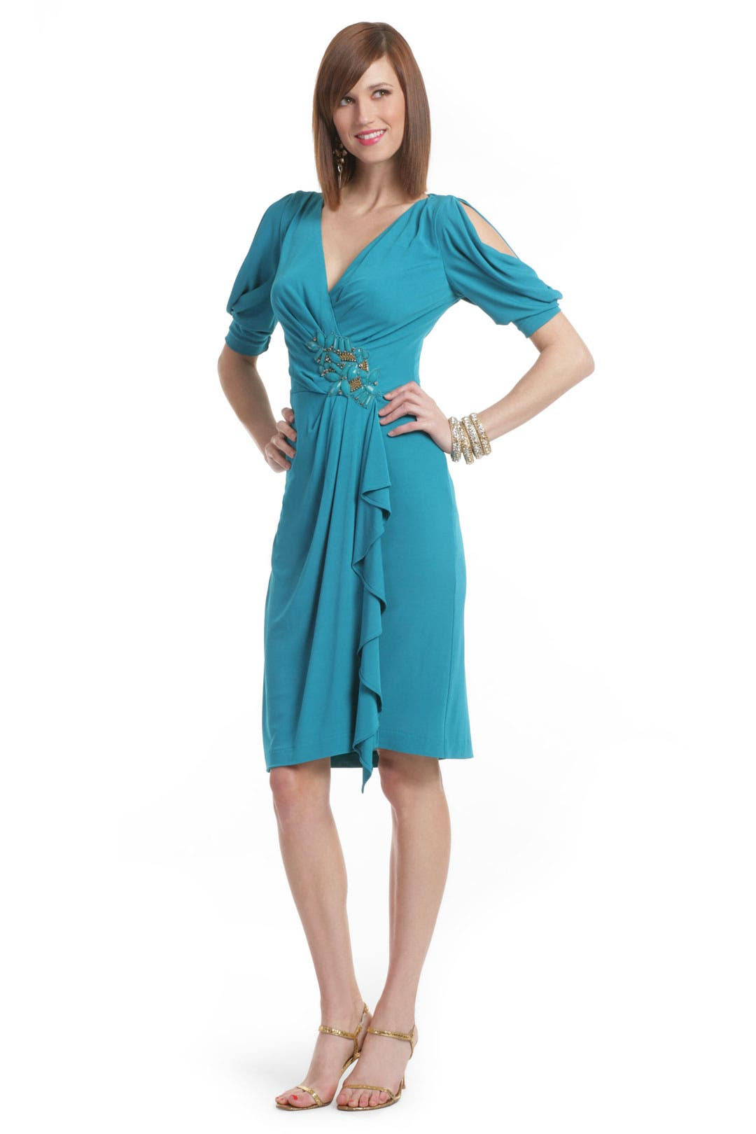 Sea Breeze Dress by Badgley Mischka