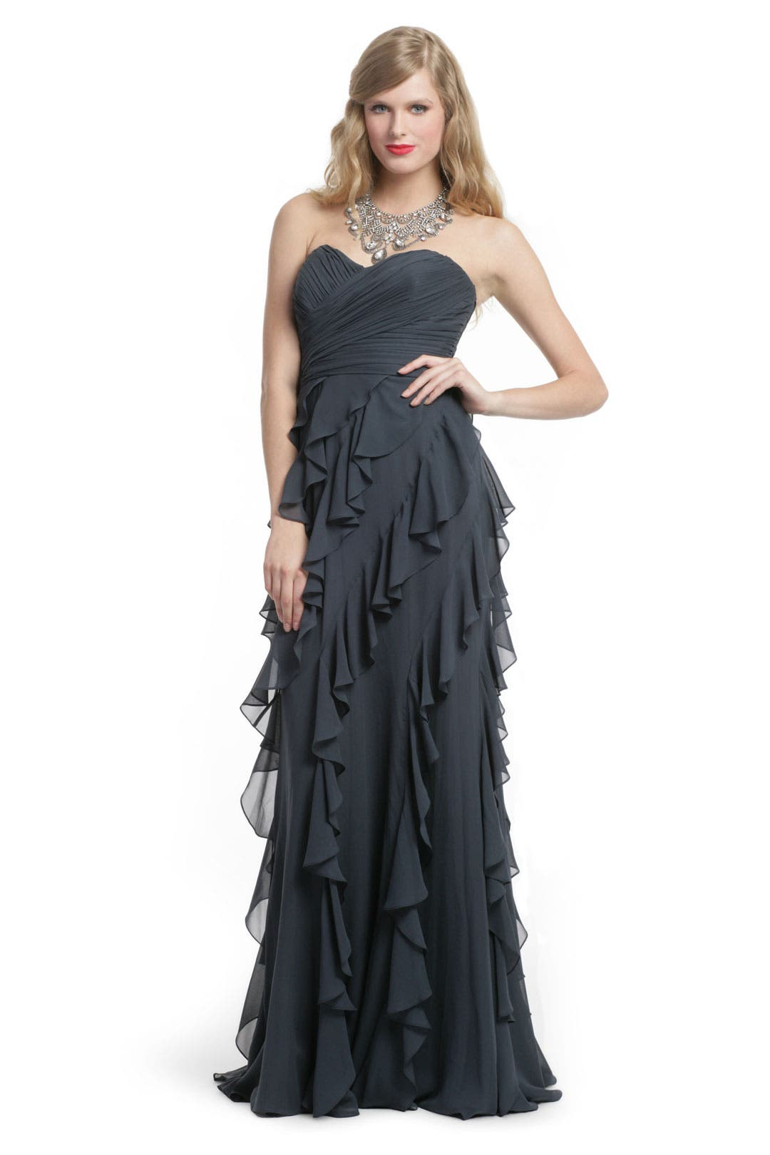 Sea Storm Siren Gown by Badgley Mischka