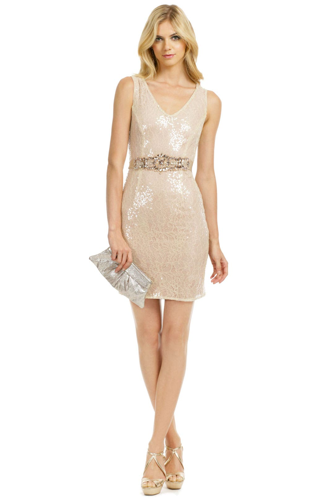 Sparkle in the Sky Dress by Badgley Mischka
