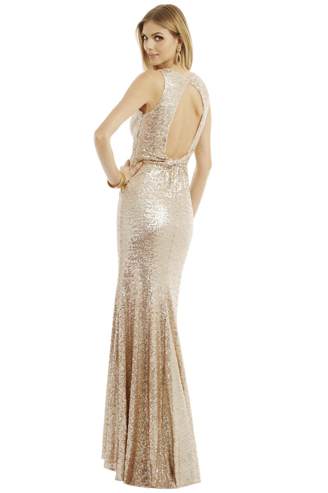 Twist It Out Gown by Badgley Mischka