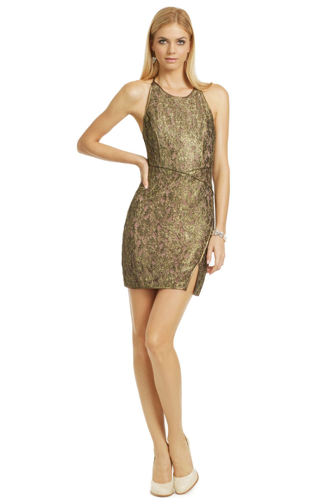Party Dresses - BCBGMaxazria Got Him Hooked Dress from Rent The Runway