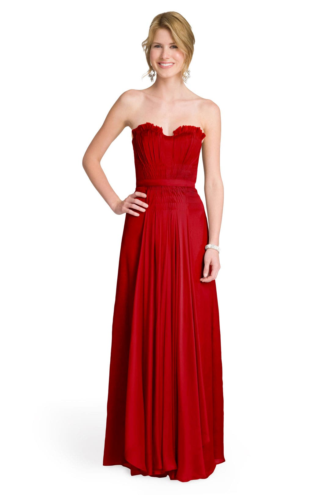 Crimson Princess Gown by Bibhu Mohapatra