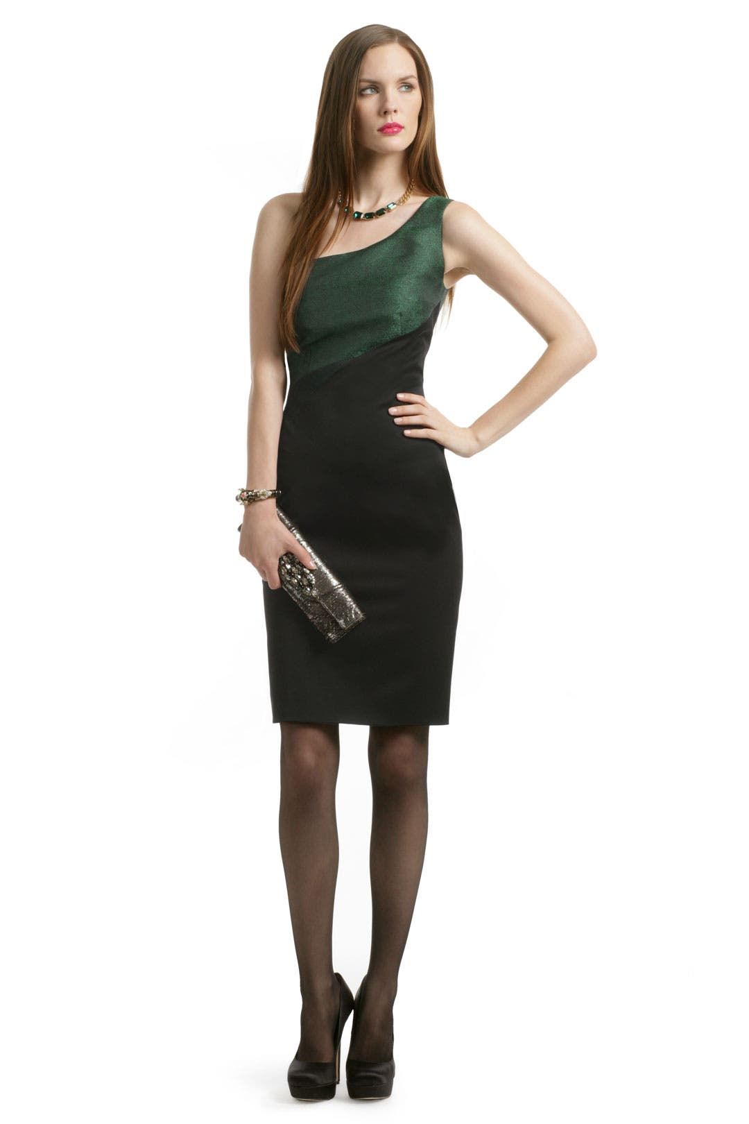 Emerald Insert Dress by Bibhu Mohapatra