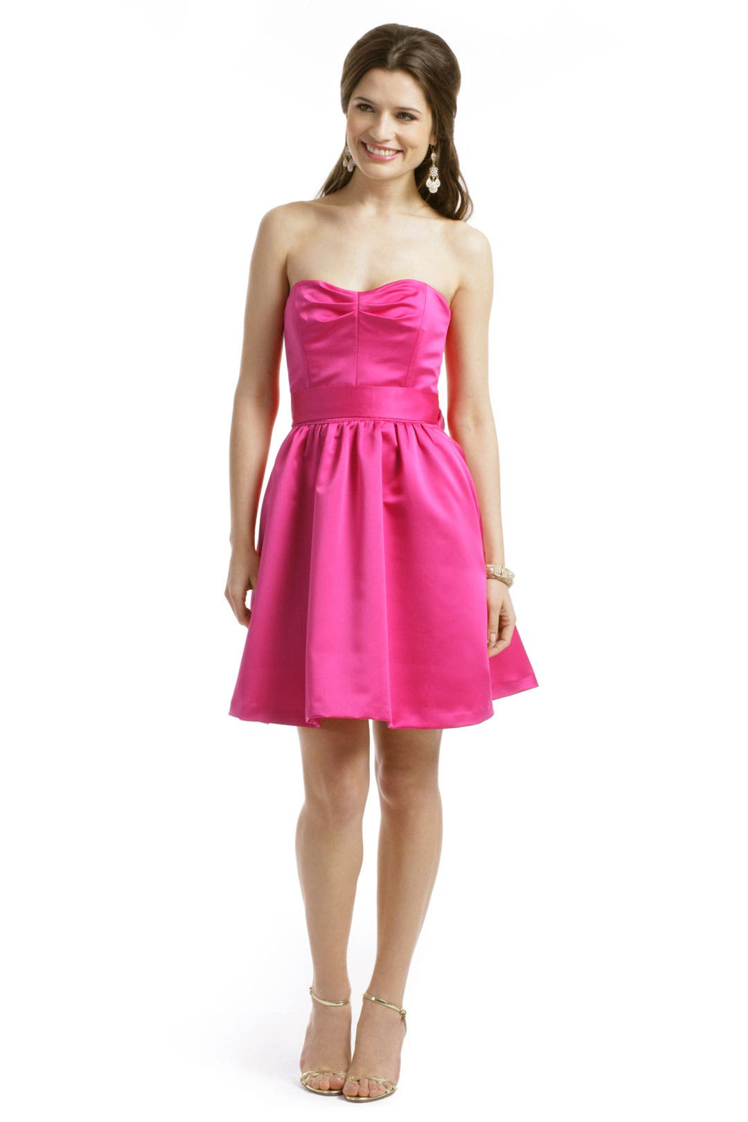 Simple Serena Dress by Badgley Mischka