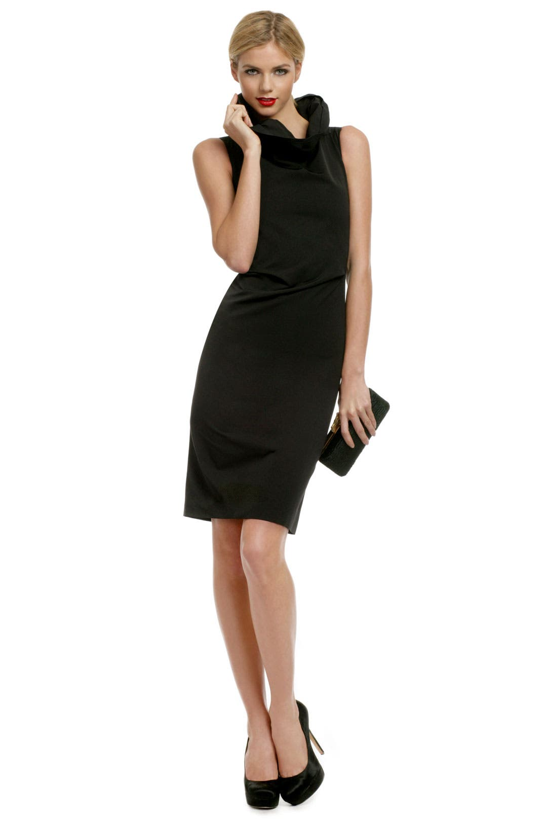 Beyond Chic Collar Sheath by Calvin Klein Collection