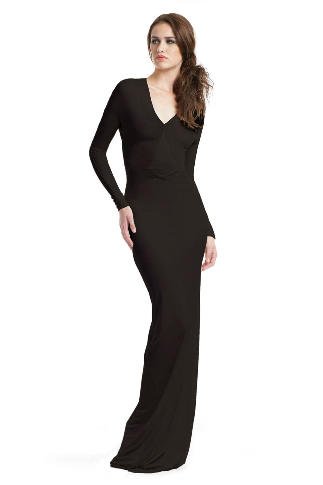 Black Venom Gown by Calvin Klein Collection