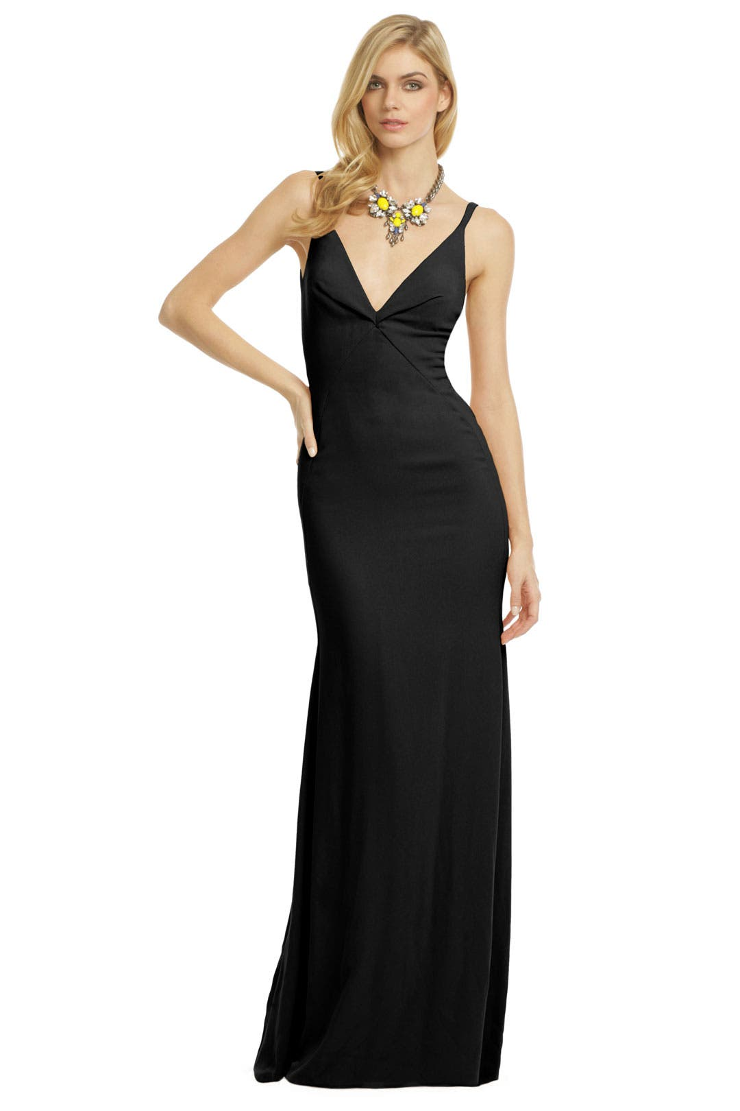 Cross Roads Gown by Calvin Klein Collection