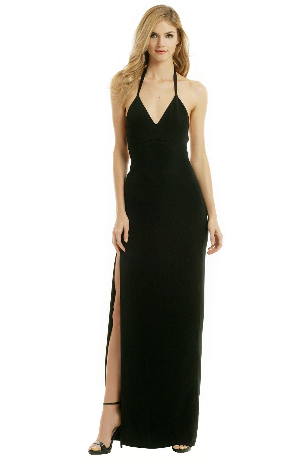 Sleek It Back Gown by Calvin Klein Collection