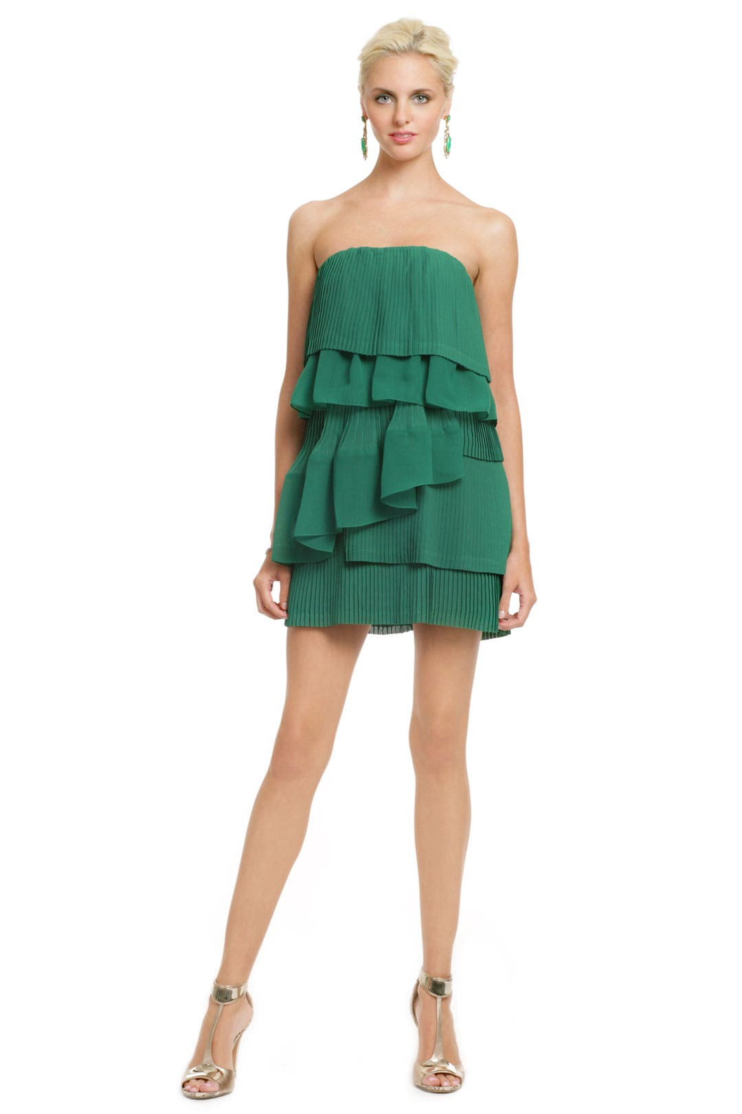 Green Palm Party Dress by camilla and marc