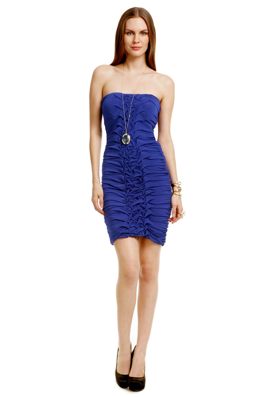 Interlocking Jersey Dress by Carlos Miele