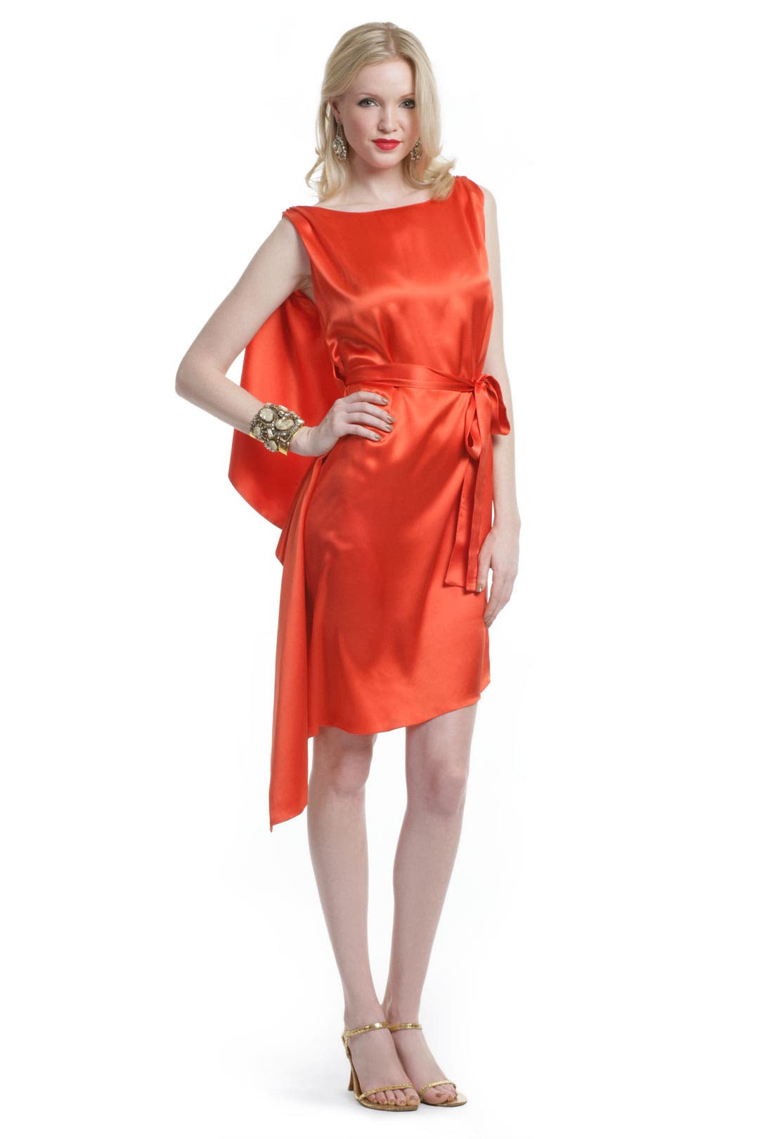 Paprika Spice Dress by Carlos Miele