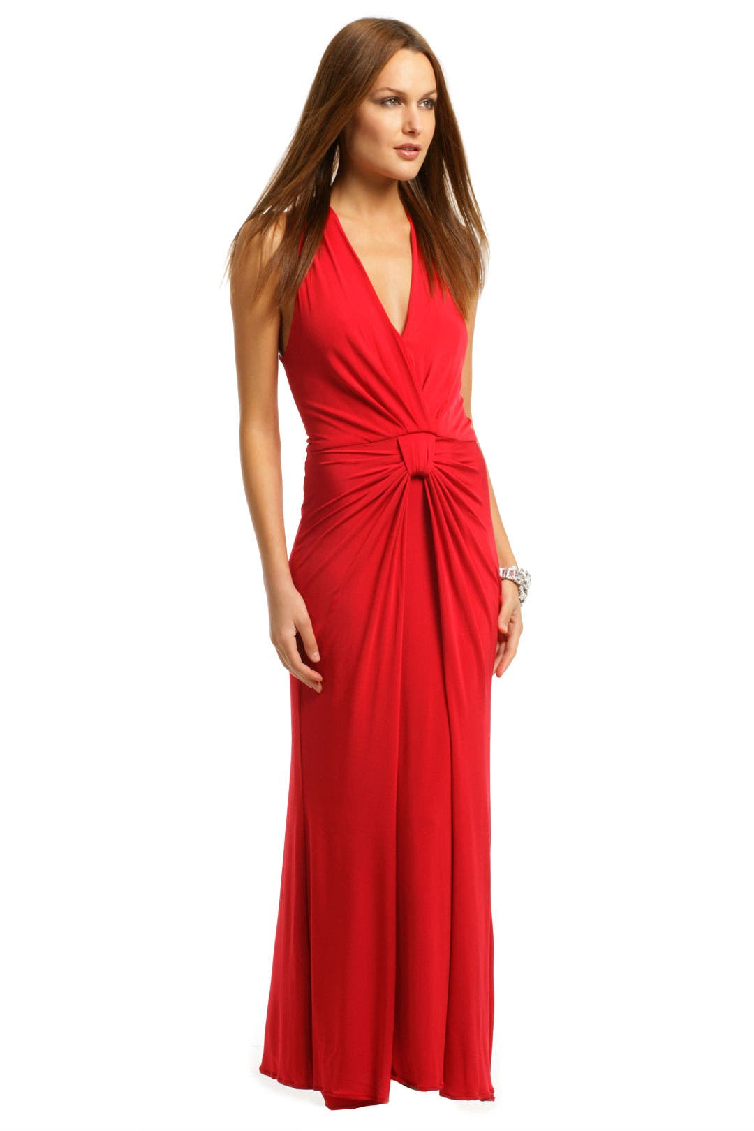 Red Eve Gown by Carlos Miele