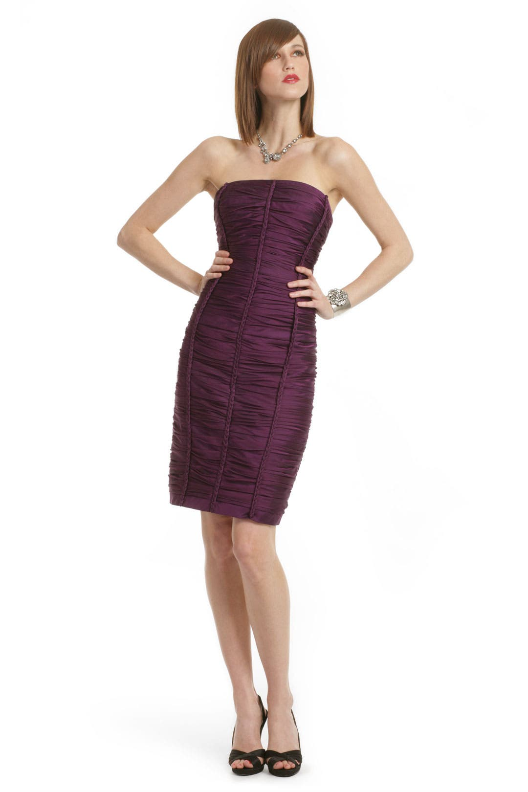 Elegance Meets Charm Dress by Carmen Marc Valvo