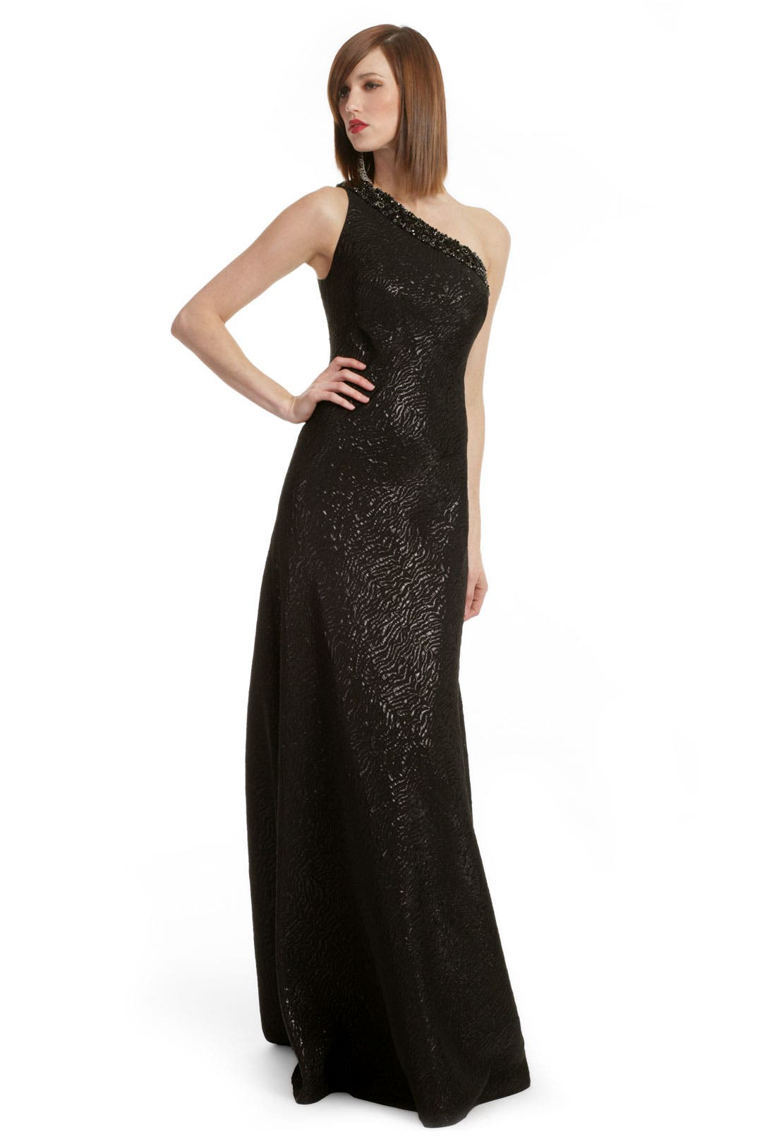 Shimmering Mirage Gown by Carmen Marc Valvo