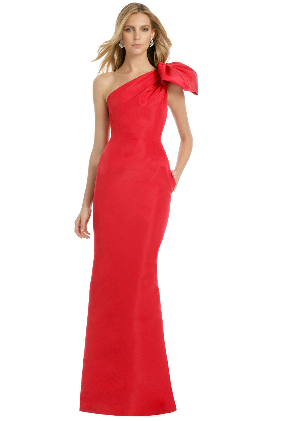 Red Kennedy Gown by Carolina Herrera