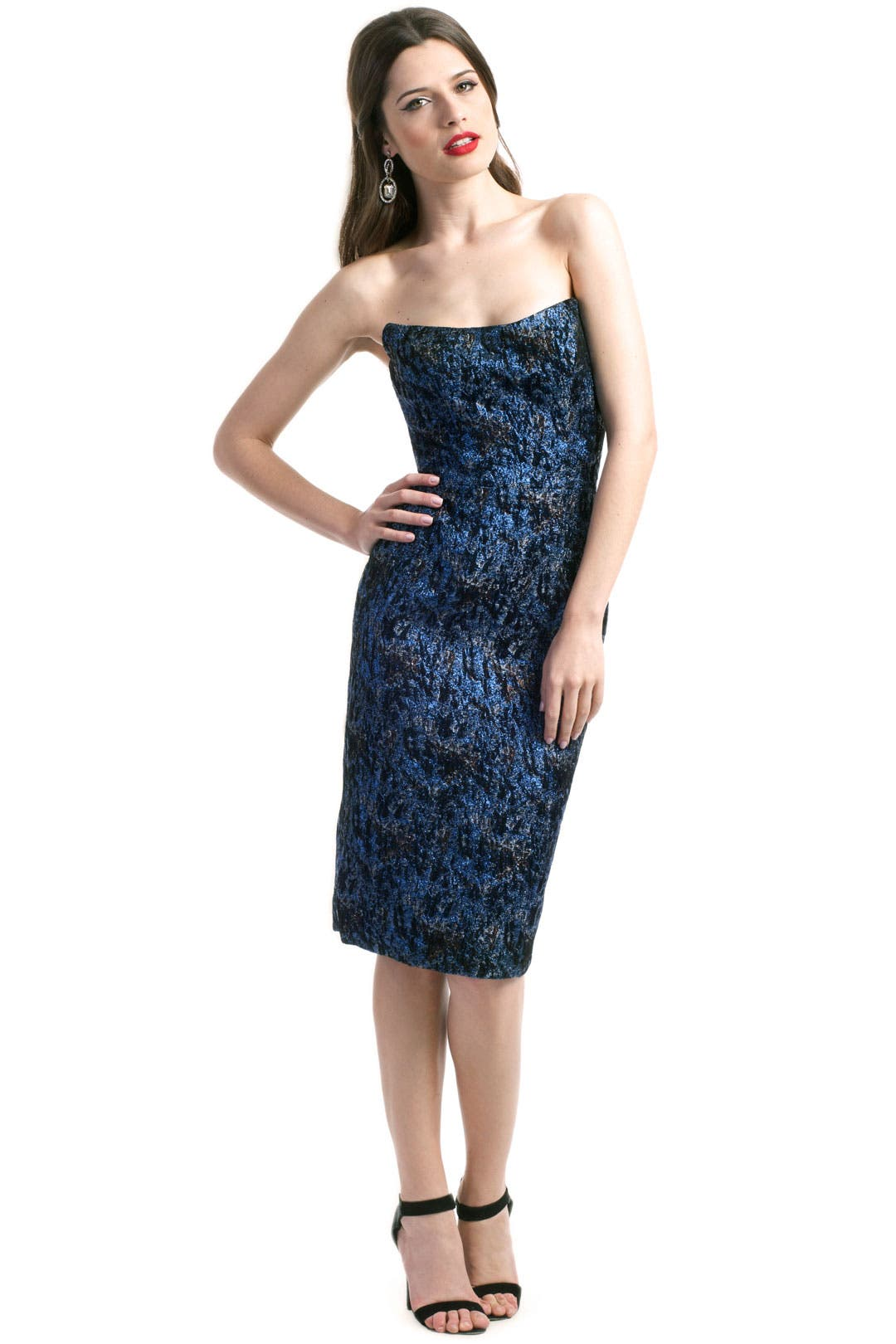Atomic Azurite Dress by Chris Benz