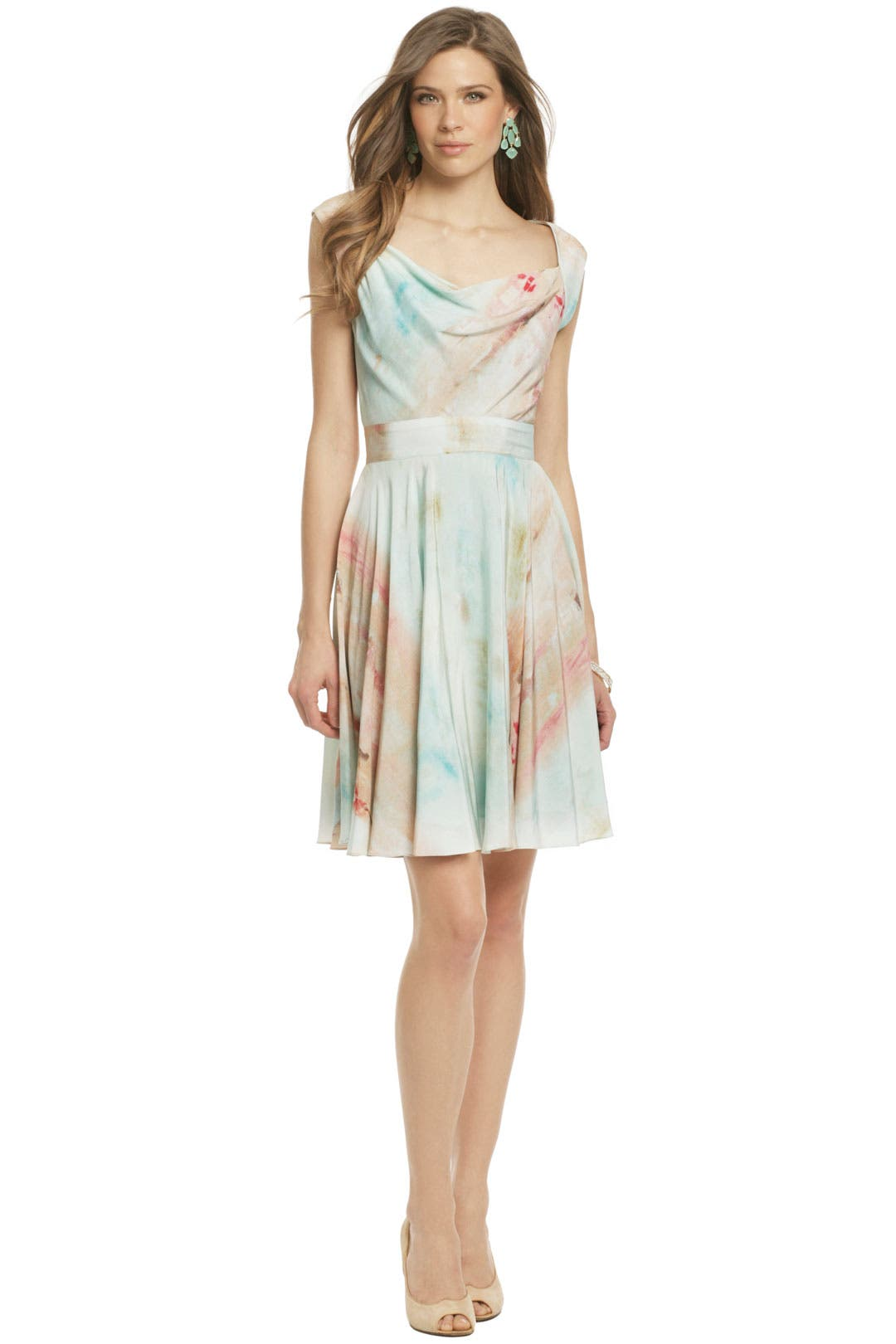 Ballet Print Party Dress by Christian Siriano