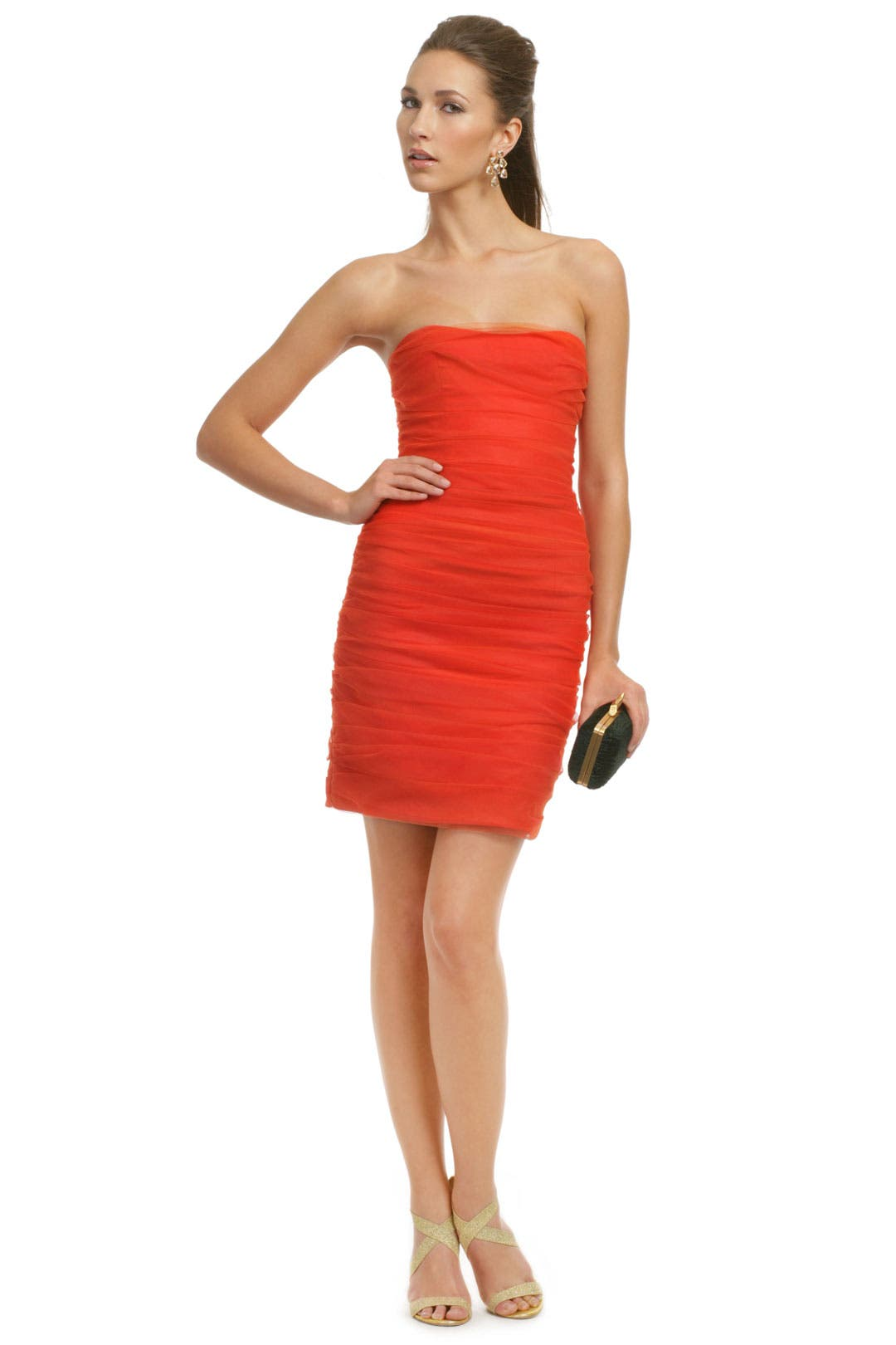 On Fire Dress by Christian Siriano
