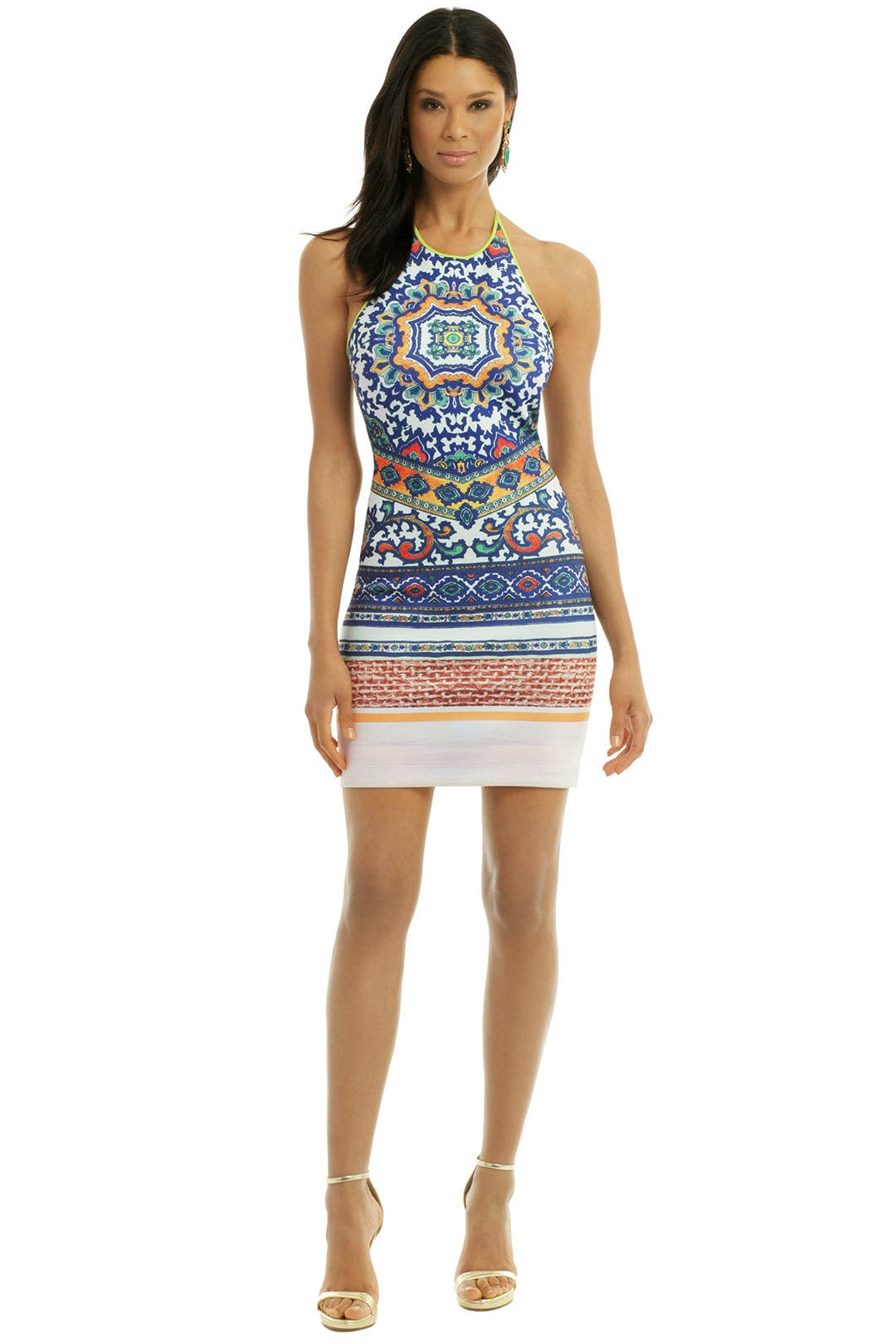 Surf Tapestry Dress by Clover Canyon