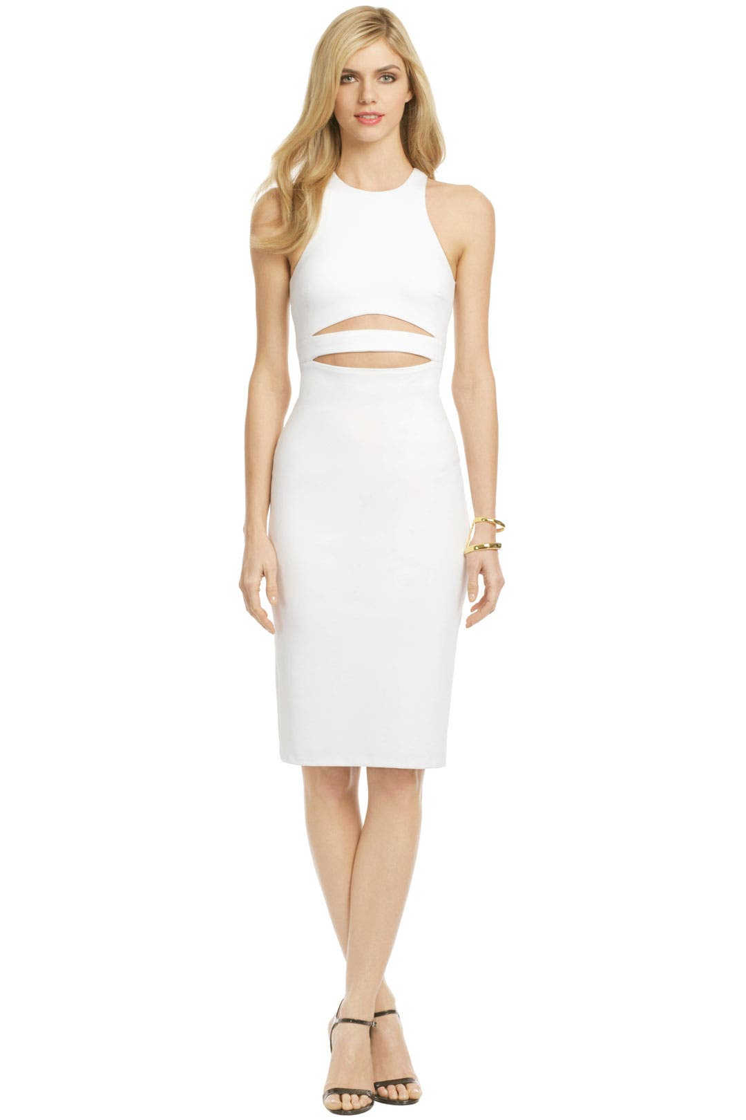 White Shockwave Dress by Cushnie Et Ochs