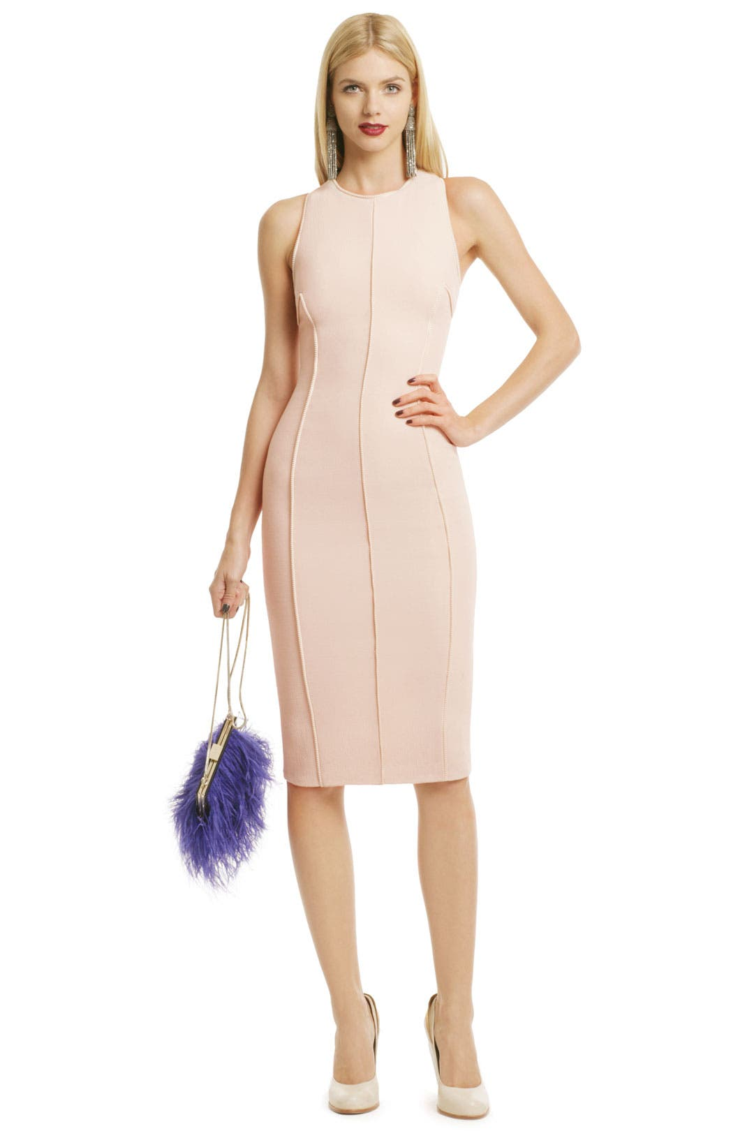 Zipper Effect Sheath by Cushnie Et Ochs
