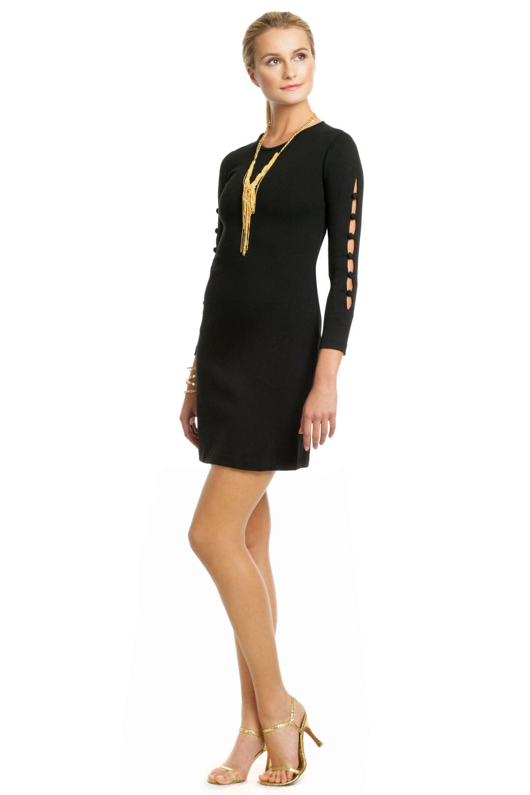 Button Me Up Dress by Cynthia Rowley