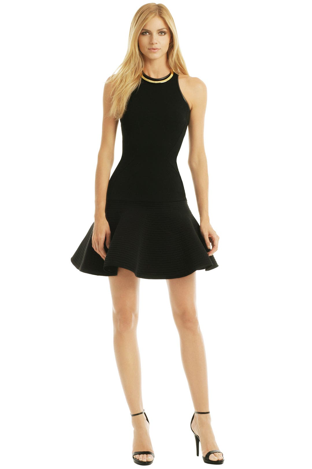 Drop and Flare Dress by David Koma