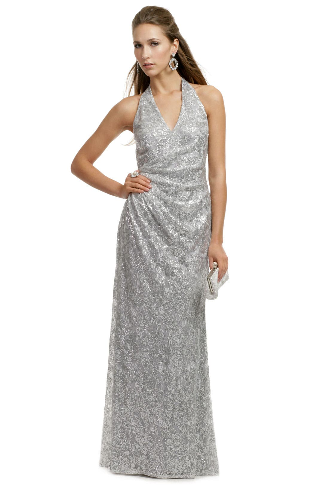 Sparkling Lela Lace Gown by David Meister
