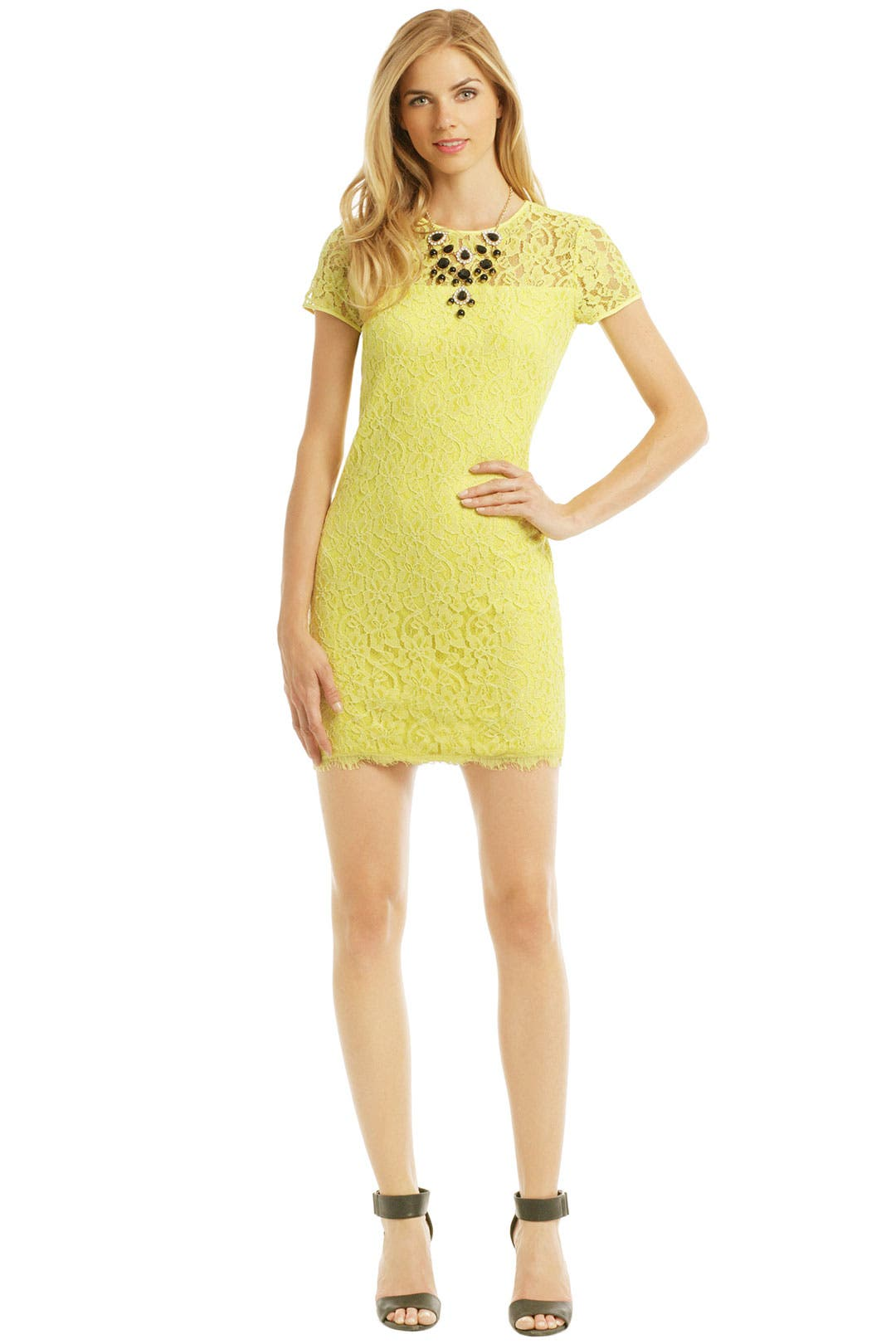 Limoncello Shift by Diane von Furstenberg