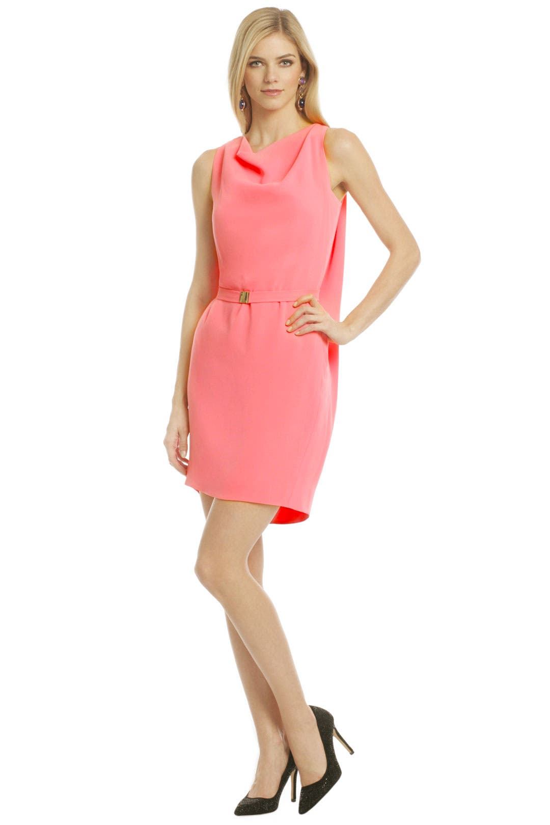 Splash Of Coral Sheath by Diane von Furstenberg