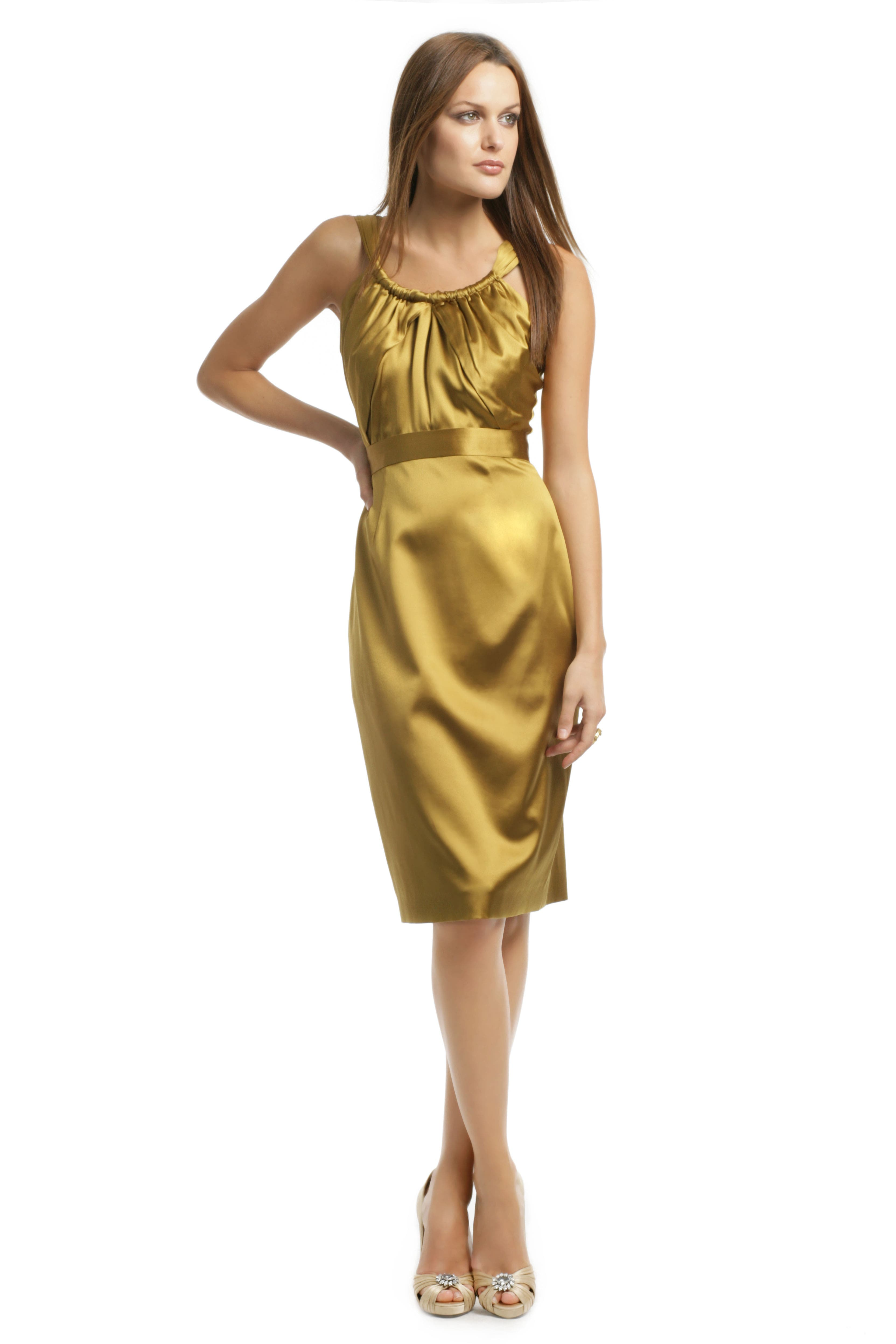 Fresca Satin Dream Dress by Elie Tahari