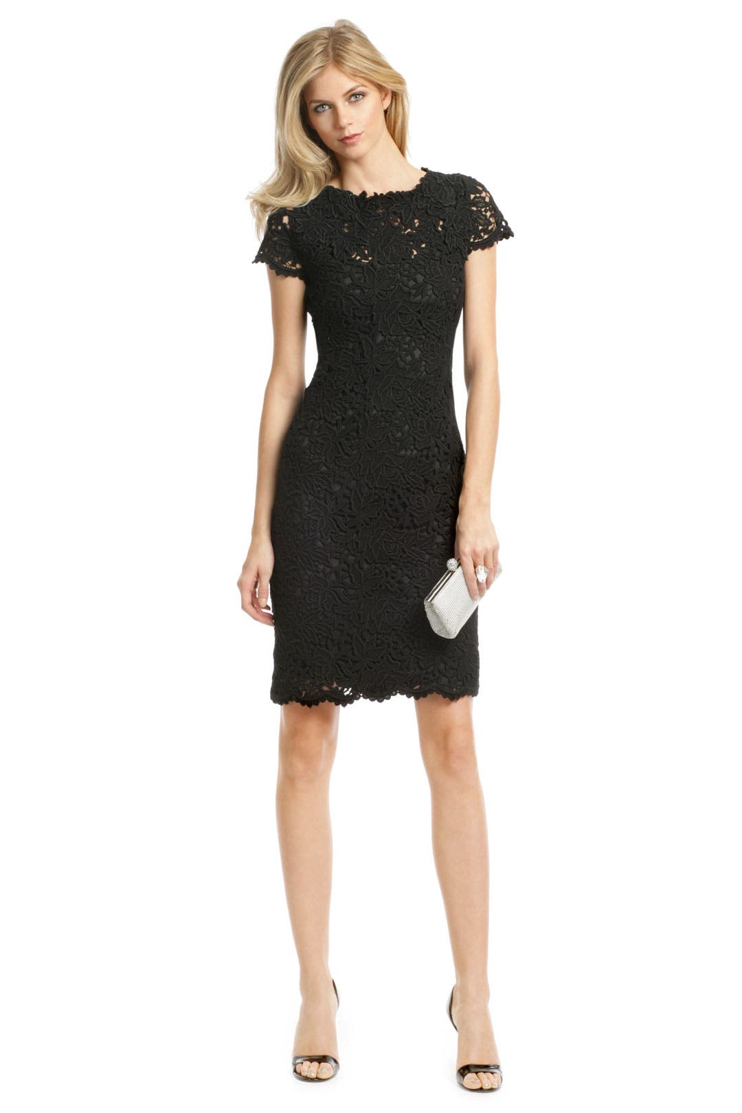 Loolu Lace Sheath by Elie Tahari