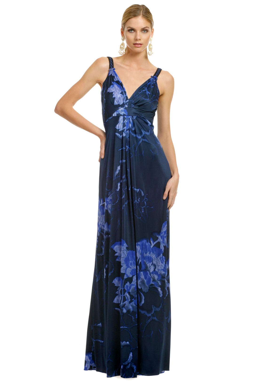 Tropical Ocean Storm Maxi by Elie Tahari