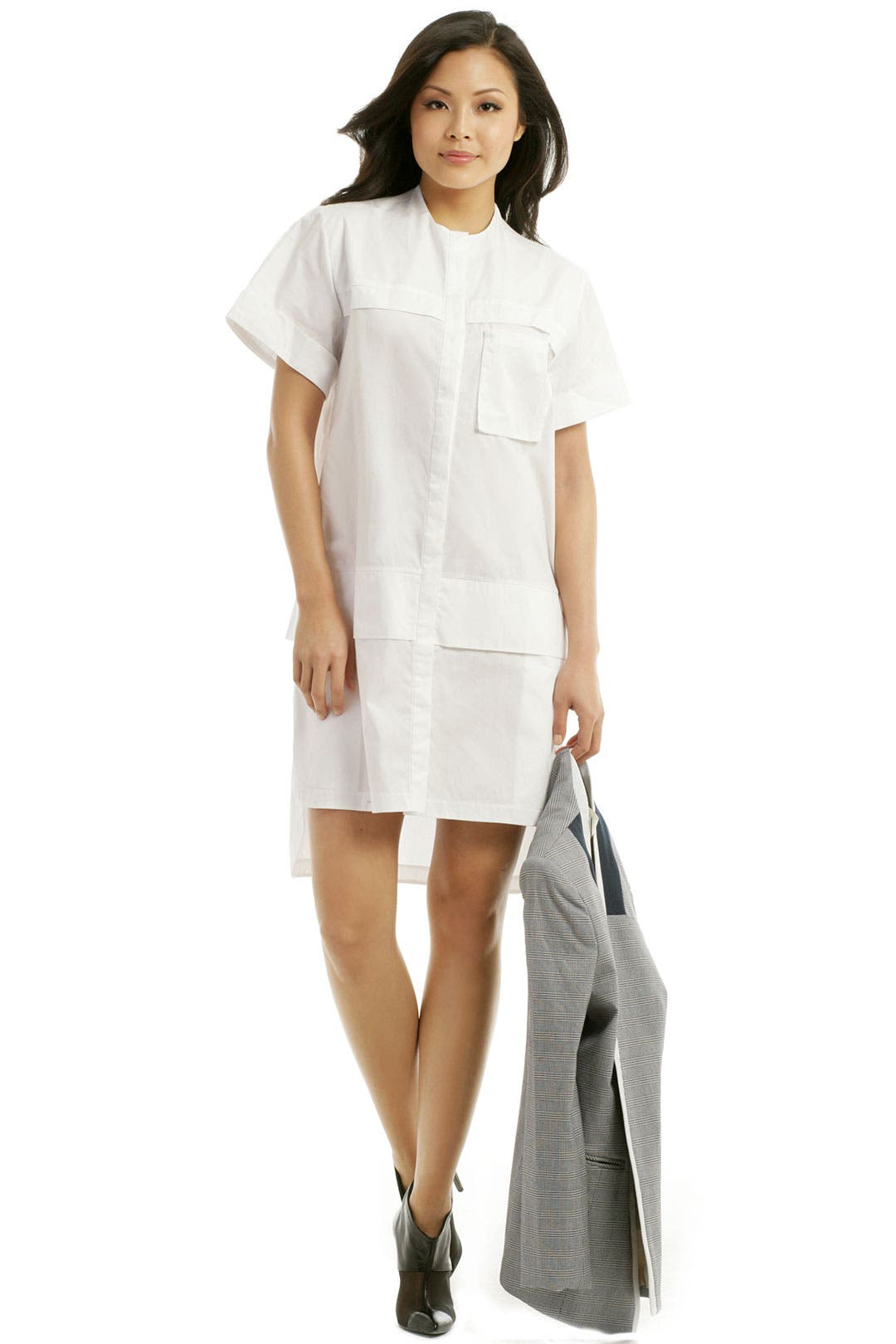 Samson Placket Shirt Dress by ELLERY