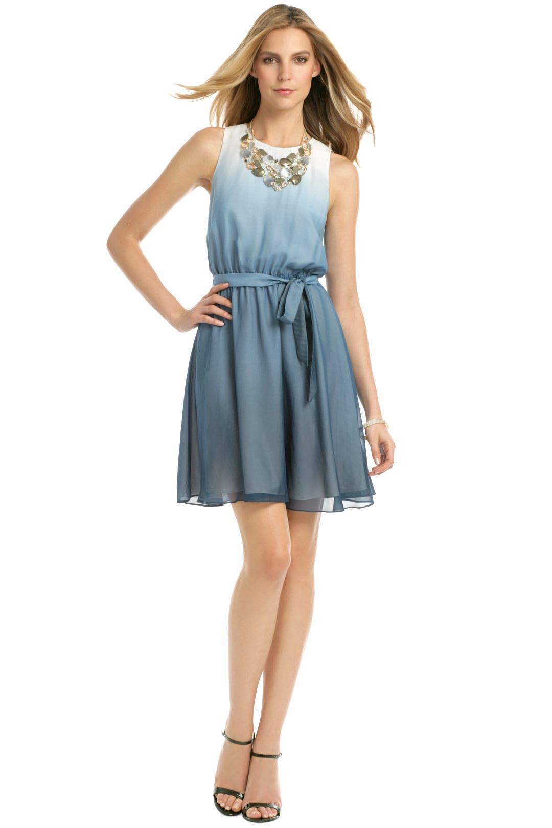 Blue Sea Mist Dress by ERIN by erin fetherston