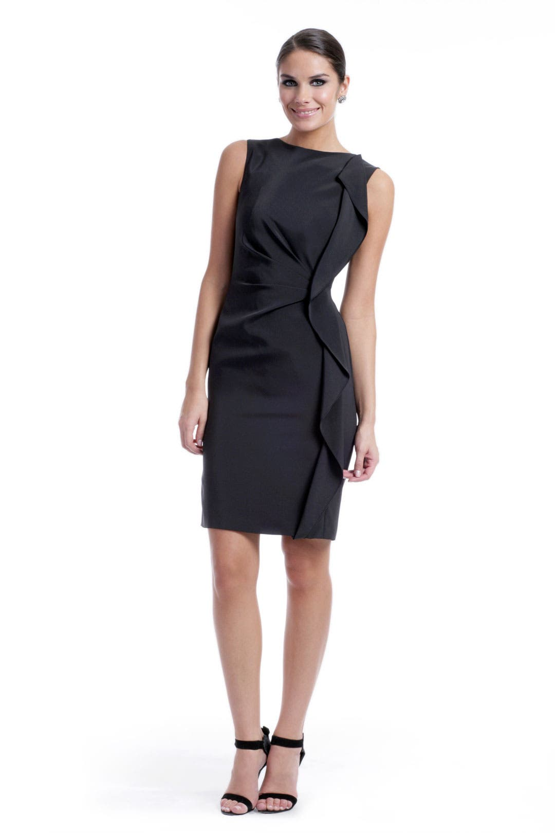 Dark Wave Sheath by Escada