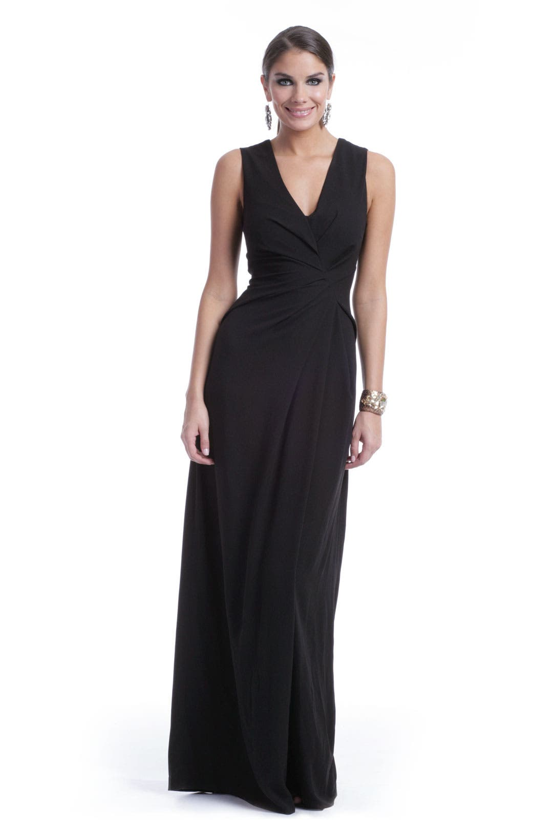 Spiral Wrap Gown by Escada