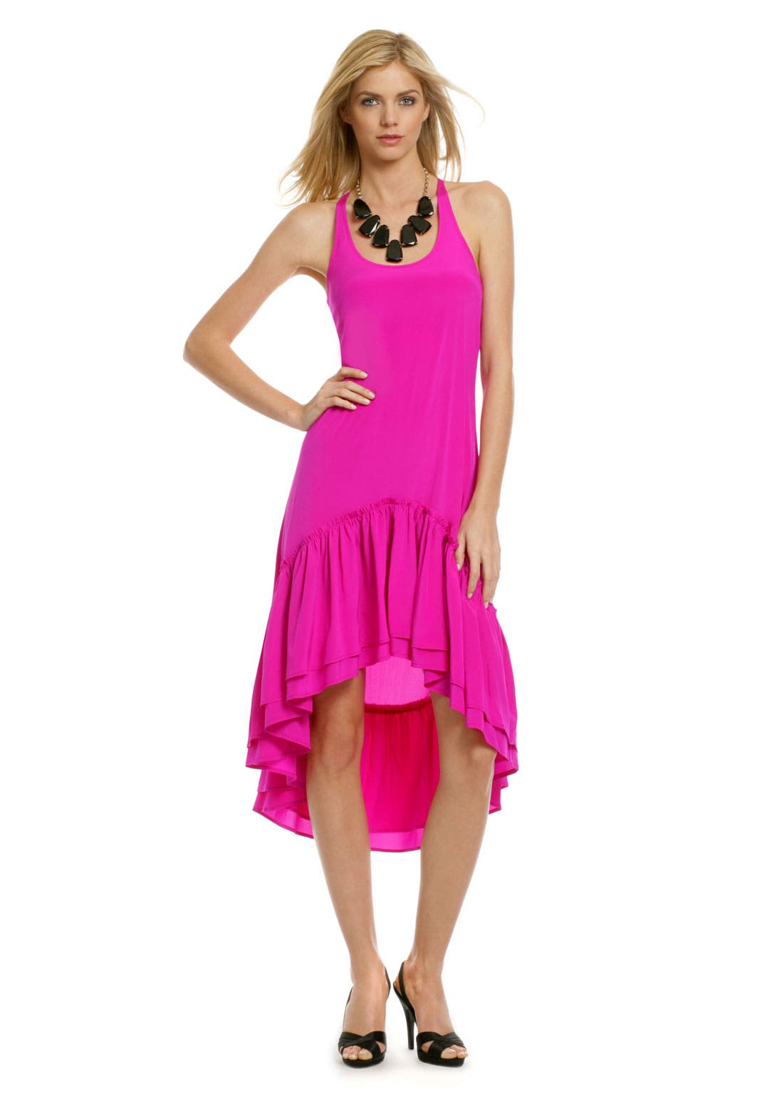 Fuchsia Flamenco Dress by Gryphon
