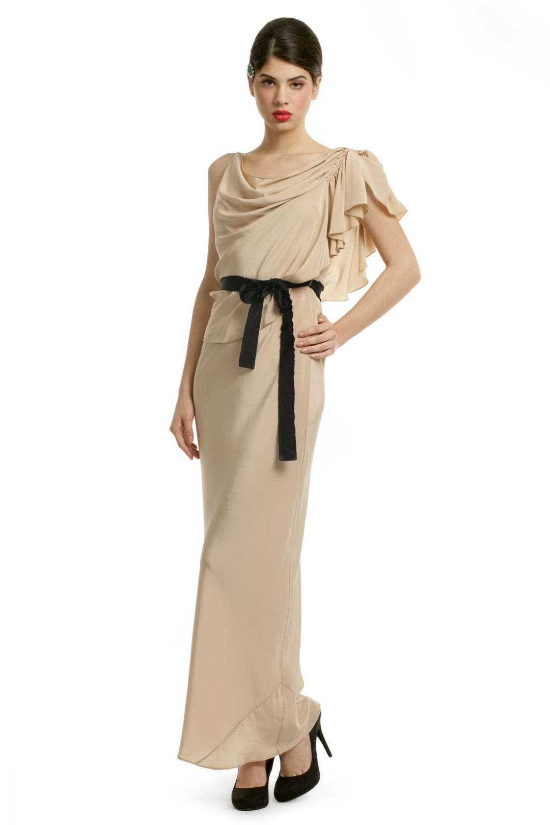 Gatsby Silk Soiree Gown by Gryphon