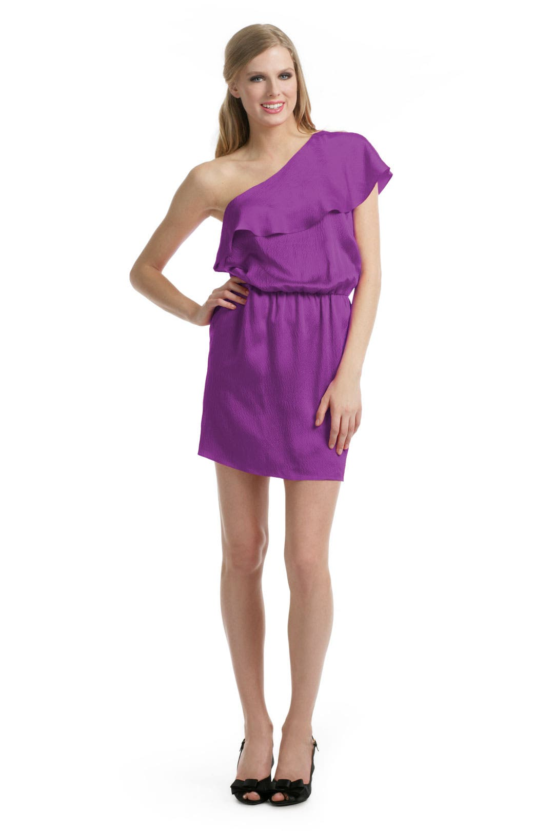 Drape Me Away Dress by Halston Heritage