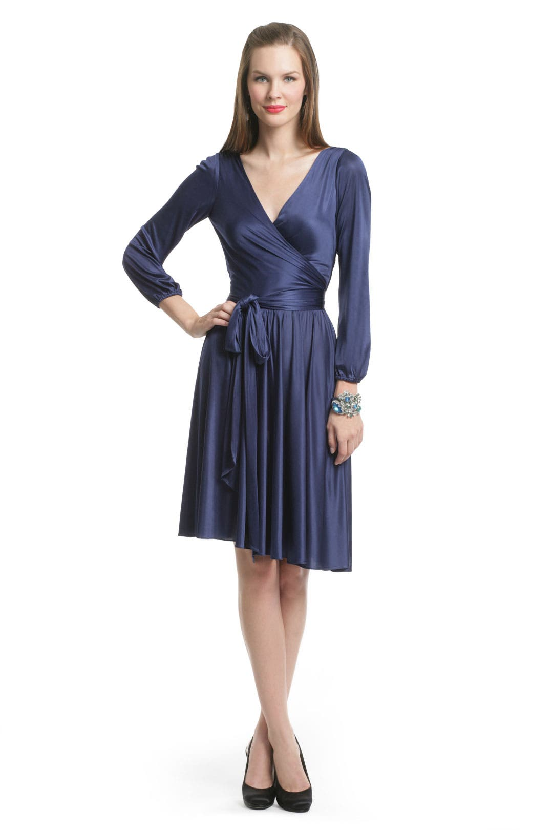 Kate Wrap Dress by Halston Heritage