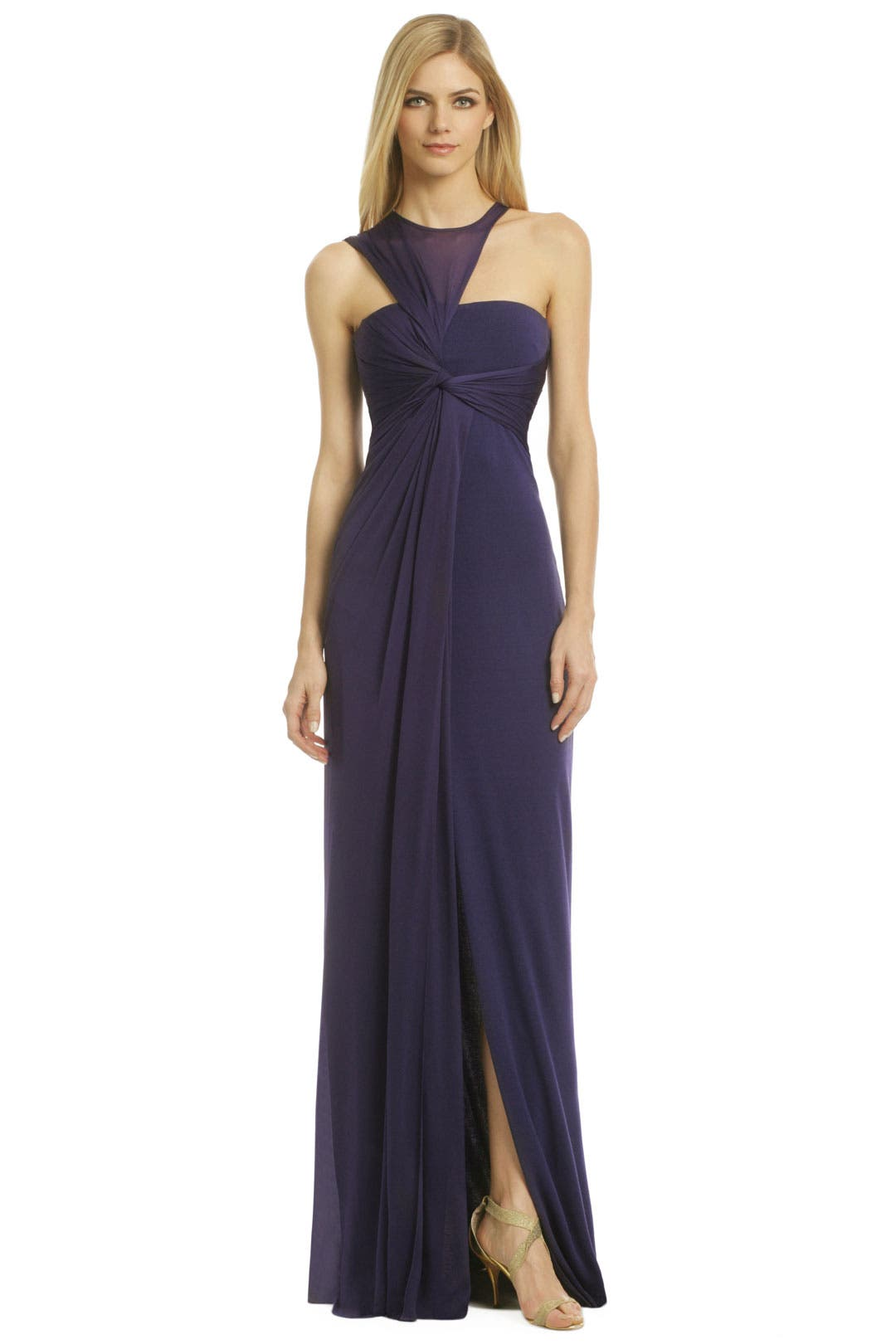 Manhattan Night Mist Gown by Halston Heritage