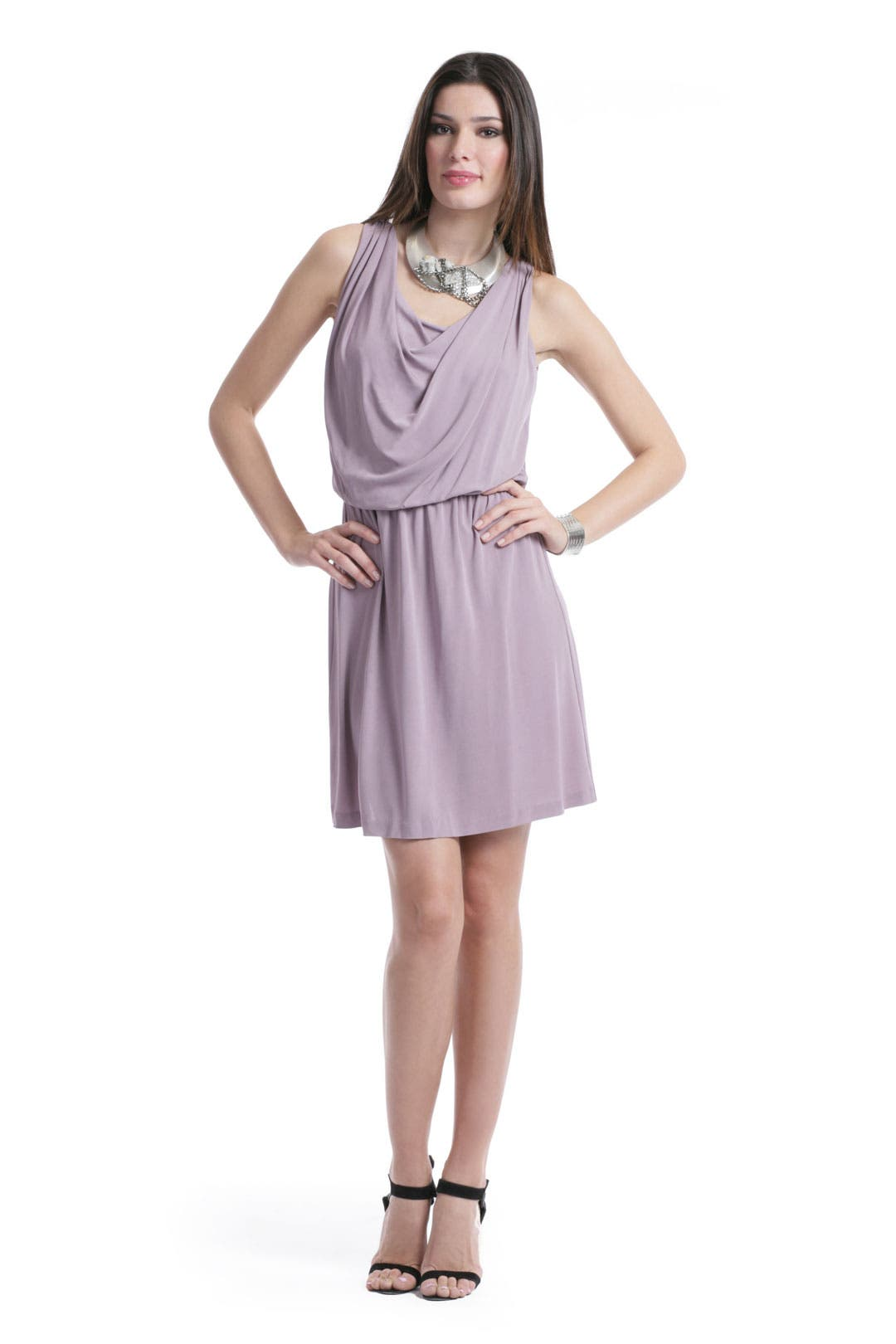 Mauve-a-lous Dress by Halston Heritage