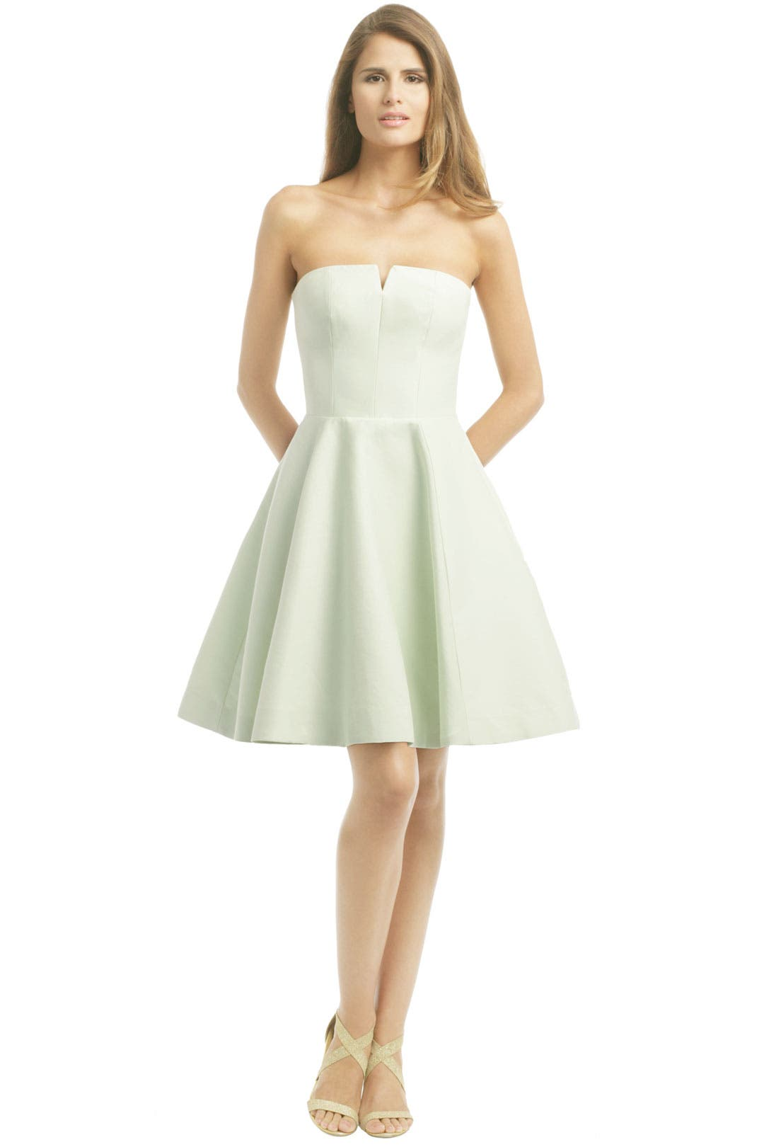 Minty Fresh Dress by Halston Heritage
