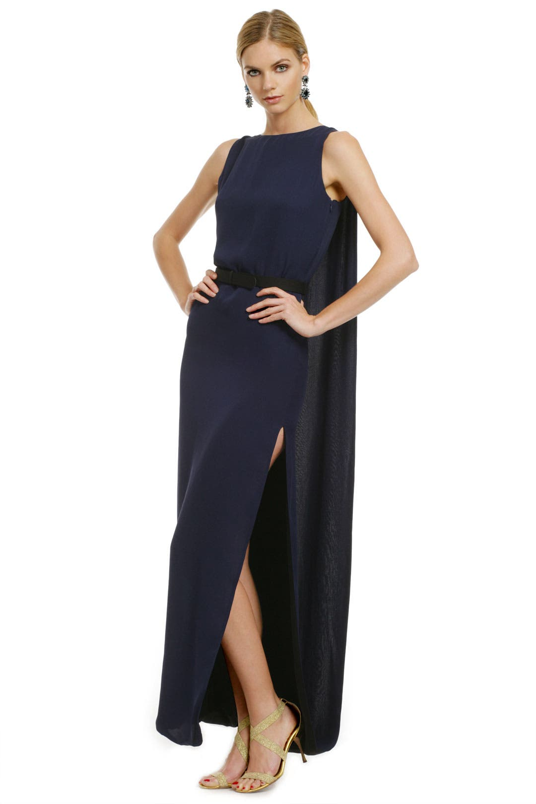 Night Raven Gown by Halston Heritage