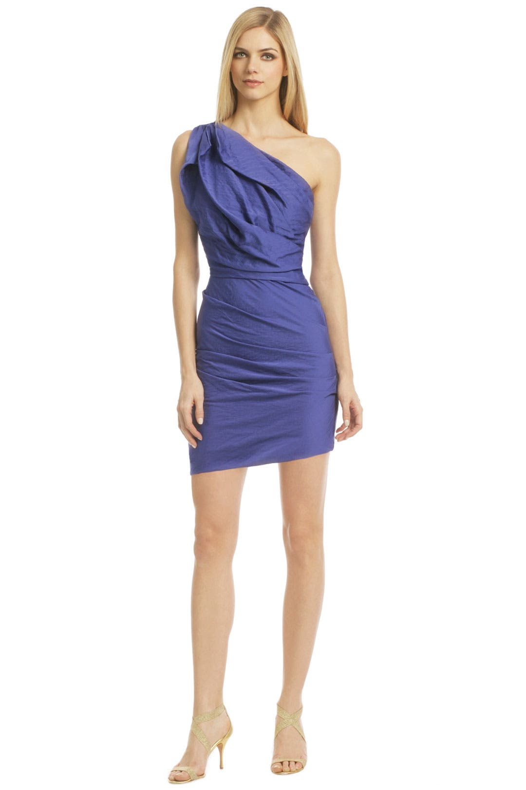 One Sided Dream Dress by Halston Heritage