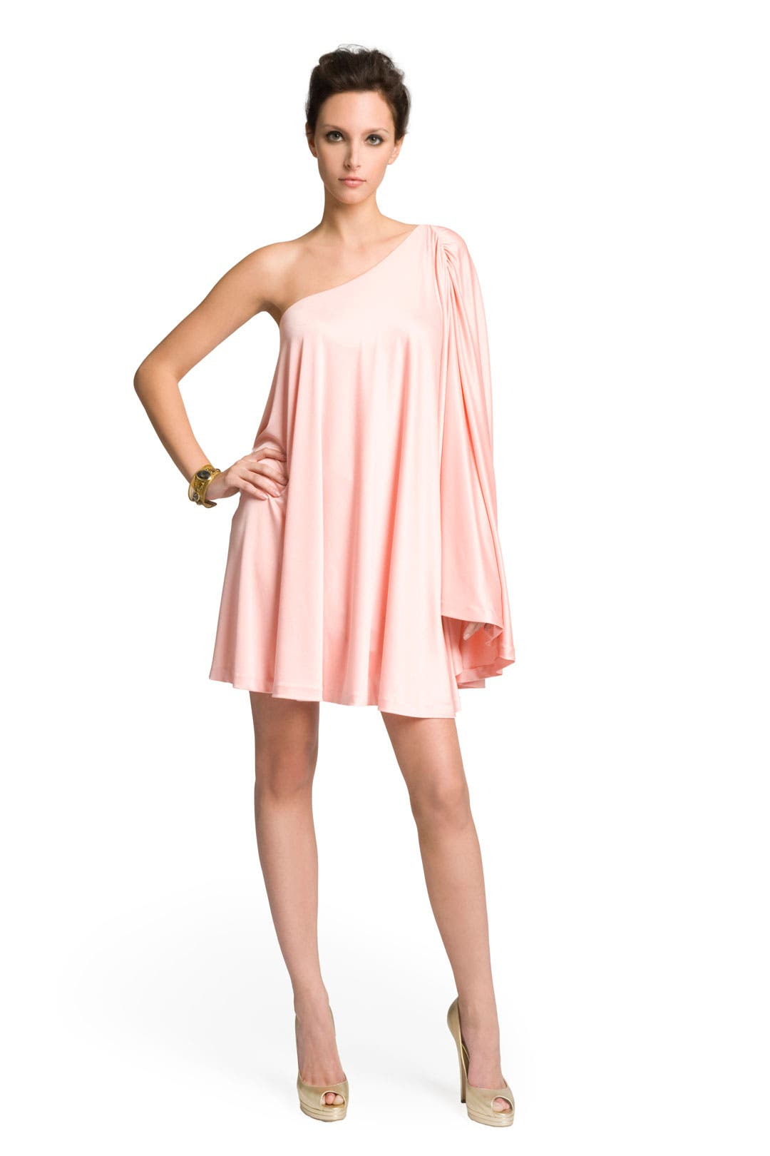 Pretty Poncho Dress by Halston Heritage